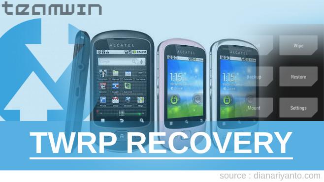 TWRP Recovery Alcatel 4047D - Pyquro